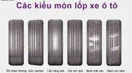 Bơm lốp xe ô tô bao nhiêu là đủ?