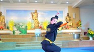 Đặc sắc đêm giao lưu võ thuật tại chùa Viên Quang