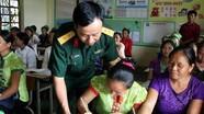 Khai giảng lớp sau xóa mù chữ cho bà con xã vùng biên