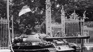 Tường tận xe tăng húc đổ cổng Dinh Độc Lập vào ngày 30/4/1975