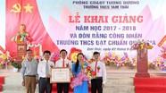 Trường THCS Tam Thái khai giảng năm học và đón Bằng công nhận trường chuẩn quốc gia