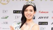 Nhan sắc sinh viên 21 tuổi đăng quang Hoa hậu thế giới Nhật Bản 2017