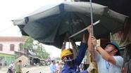 Bảo vệ thi công công trình cầu vượt qua ngã tư thị trấn Cầu Giát