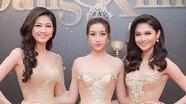 Hoa hậu Mỹ Linh hội ngộ Á hậu Thanh Tú, Thuỳ Dung ở Hà Nội