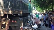 Một phụ nữ bị xe tải cán tử vong gần chợ Đông Vĩnh