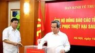 Ban Kinh tế Trung ương ủng hộ đồng bào vùng bị bão số 10