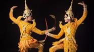 Trương Thị May 'hút hồn' trong điệu múa mừng Tết ĐônTê của người Khmer
