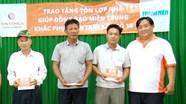 77 hộ dân ở Cửa Lò được hỗ trợ tấm lợp mái nhà