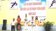 Taekwondo Nghệ An đoạt HCV tại giải các CLB mạnh toàn quốc
