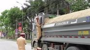 Phát hiện 28 trường hợp chở hàng quá tải trọng cho phép trên Quốc lộ 7