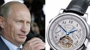 Thú chơi đồng hồ xa xỉ của các chính khách
