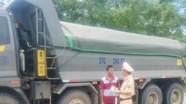 Cảnh sát giao thông Công an Nghệ An: Kiên quyết xử lý xe quá khổ, quá tải