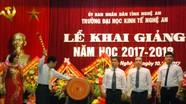 Trường Đại học Kinh tế Nghệ An khai giảng năm học mới
