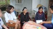 Nhóm thiện nguyện ủng hộ gia đình khó khăn ở Đô Lương