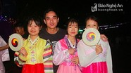 Hàng nghìn bạn trẻ hào hứng với Lễ hội văn hóa Việt - Hàn ở TP. Vinh