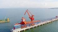 Cảng biển quốc tế ở Nghệ An nhìn từ trên cao