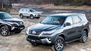 Các phiên bản Toyota Fortuner 2018 đồng loạt giảm giá