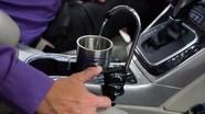 Xe ô tô vừa chạy vừa sản xuất nước uống