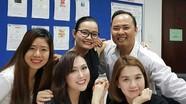 Ngọc Trinh học chung lớp CEO với Phi Thanh Vân