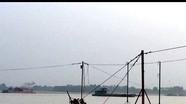 Cát tặc hoành hành, bãi bồi sông Lam nguy cơ bị 'nuốt chửng'