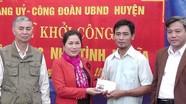 Hỗ trợ 40 triệu đồng làm nhà tình nghĩa ở Yên Thành