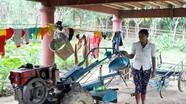 Rời chốn rừng già, đồng bào Đan Lai đã biết sử dụng máy cày