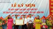 Trường Tiểu học Diễn Phú đón bằng đạt chuẩn Quốc gia mức độ 2