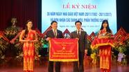 Phó Bí thư Nguyễn Xuân Sơn chúc mừng Đại học Vinh nhân dịp 20/11