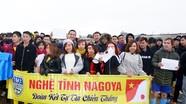 Giải bóng đá đồng hương xứ Nghệ ở Nhật hướng về quê nhà