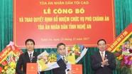 Nghệ An có 2 tân Phó chánh án Tòa án nhân dân tỉnh