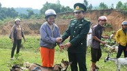BĐBP Nghệ An quyên góp hơn 500 triệu đồng tạo sinh kế cho người dân
