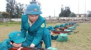 Phát huy sức mạnh lực lượng dân quân tự vệ, xây dựng và bảo vệ quê hương