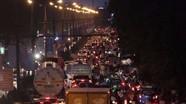Các cơ quan báo chí phản ánh tình trạng ùn tắc giao thông ở Vinh