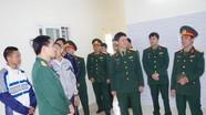 Bộ CHQS tỉnh Nghệ An bàn giao nhà đồng đội
