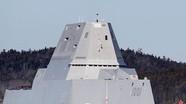 Khu trục hạm tàng hình Mỹ gặp sự cố điện trong lần đầu ra khơi