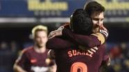 Messi, Suarez cùng lập công, Barca lập lại cách biệt ở La Liga