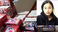 Cô gái trẻ lừa tài xế chở 138kg pháo nổ
