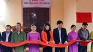 Bàn giao nhà 'Chữ thập đỏ' cho hộ nghèo ở Nam Đàn