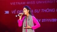 Nữ sinh Nghệ An lọt vào 'Top hùng biện tiếng Anh' cuộc thi Hoa khôi Sinh viên Việt Nam
