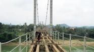 Đầu tư 4 tỷ đồng sửa chữa cầu treo ở Con Cuông