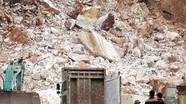 Sập mỏ đá trắng tại Quỳ Hợp, 4 người thương vong