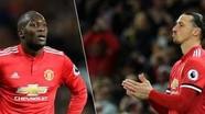 Lukaku và Ibrahimovic không thể đá cặp ở Man Utd