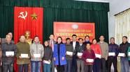 Ngân hàng Nhà nước - Chi nhánh Nghệ An hỗ trợ 500 triệu đồng cho các gia đình thiệt hại do bão lũ