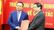 Ông Trần Sỹ Thanh nhận quyết định giữ chức Phó Trưởng Ban Kinh tế Trung ương