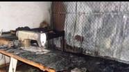 Nghệ An: Cháy chợ lúc sáng sớm, 6 ki ốt hàng hóa bị thiêu rụi