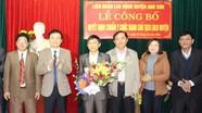 Công bố Quyết định chuẩn y chức danh Chủ tịch LĐLĐ huyện Anh Sơn