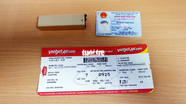Phát hiện hành khách mang dụng cụ phóng điện lên máy bay