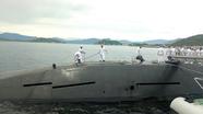 Tàu ngầm Nhật Bản lần đầu tiên đến Việt Nam