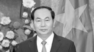 Chỉ mang băng tang, không mang vòng hoa đến viếng Chủ tịch nước Trần Đại Quang