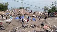 Cận cảnh trận sóng thần kinh hoàng làm chết ít nhất 48 người